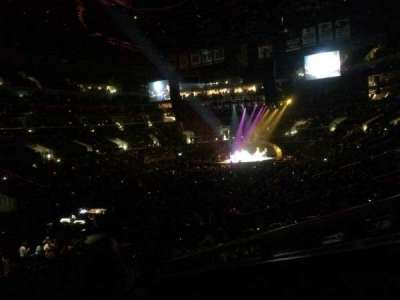Staples Center, section: 205, row: 4, seat: 2