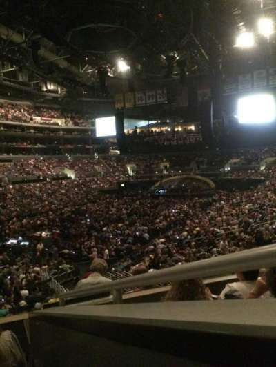 Staples Center, section: 205, row: 4, seat: 1