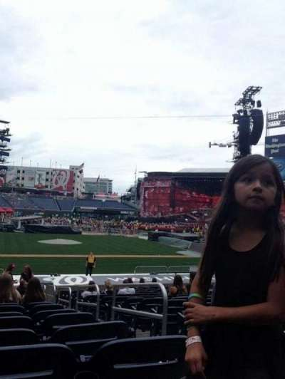 Nationals Park, section: 127, row: Z, seat: 2