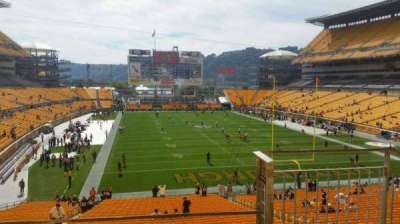 Heinz Field, section: 220, row: c, seat: 2
