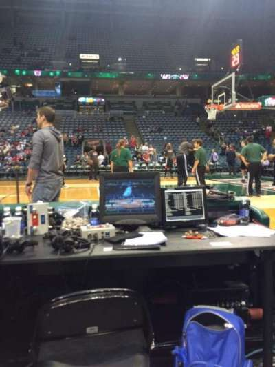 BMO Harris Bradley Center, section: 227, row: Bbb, seat: 8