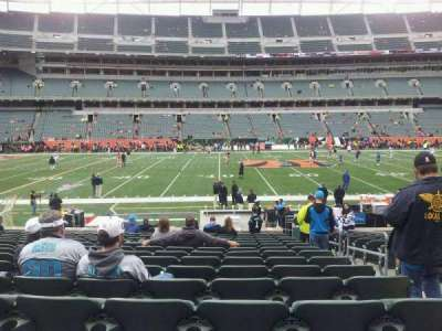 Paul Brown Stadium, section: 141, row: 15, seat: 3