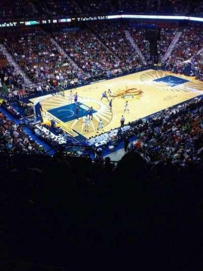 Mohegan Sun Arena, section: 109, row: L, seat: 15