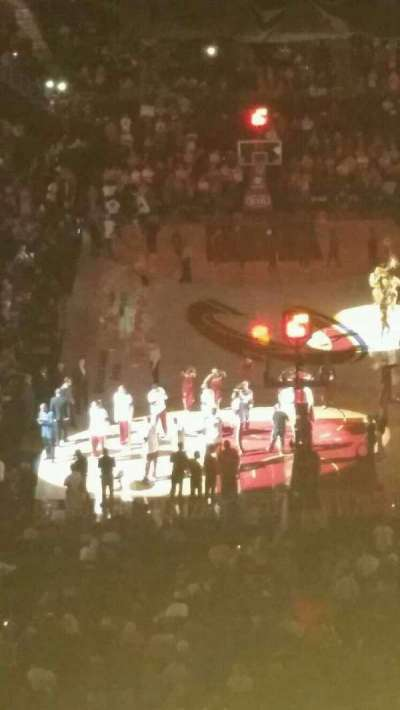 Quicken Loans Arena, section: 200, row: 7, seat: 2