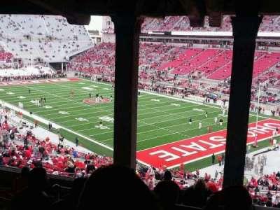 Ohio Stadium, section: 8B, row: 11, seat: 22