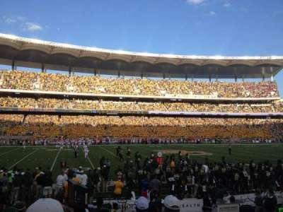 McLane Stadium, section: 108, row: 9, seat: 2