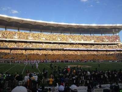 McLane Stadium, section: 108, row: 9, seat: 2