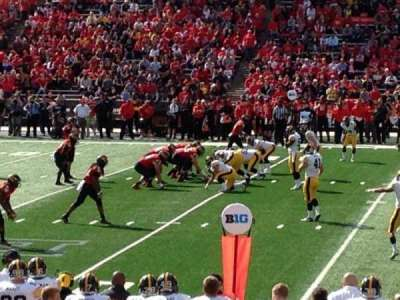Maryland Stadium, section: 306, row: 5, seat: 4