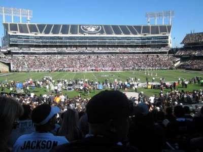 Oakland Alameda Coliseum, section: 118, row: 28, seat: 12