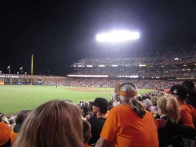 AT&T Park, section: 132, row: 24, seat: 9