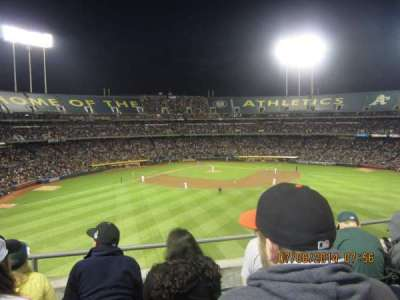 Oakland Alameda Coliseum, section: 245, row: 4, seat: 10