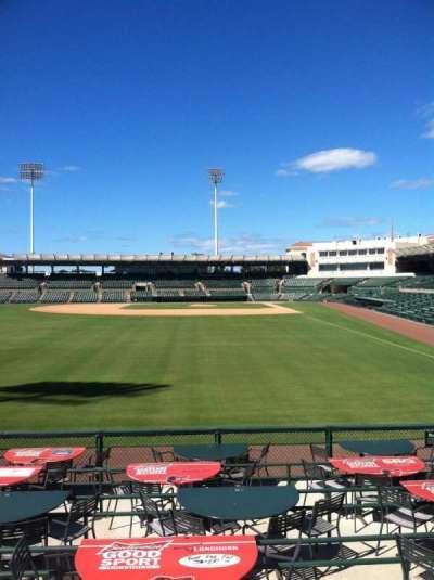 Ed Smith Stadium, section: 128