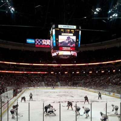Honda Center, section: 202, row: N, seat: 6