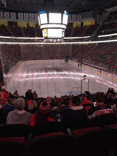 Prudential Center, section: 2, row: 21, seat: 14