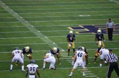 Notre Dame Stadium, section: 20, row: 34, seat: 6
