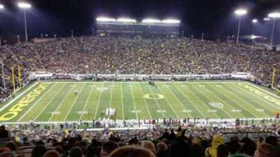 Autzen Stadium section 32