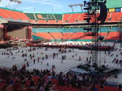 Hard Rock Stadium section 154
