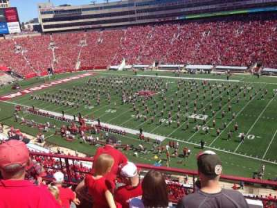 Camp Randall Stadium, section: CC, row: 6, seat: 15