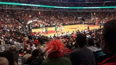 United Center, section: 103, row: 12, seat: 11