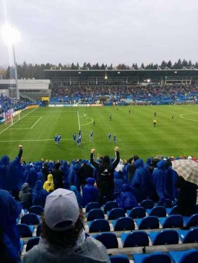 Saputo Stadium, section: 126, row: BB, seat: 9