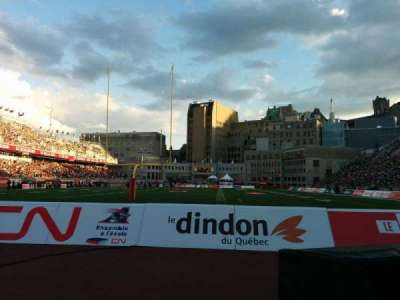 Percival Molson Memorial Stadium, section: P3, row: 1, seat: 12