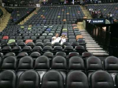 AT&T Center, section: 128, row: 6, seat: 8 and 9