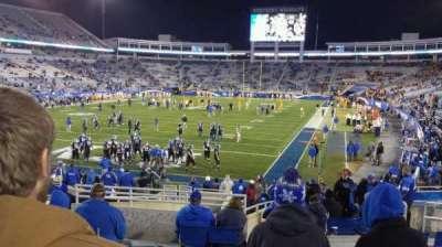 Kroger Field, section: 141, row: 19, seat: 1