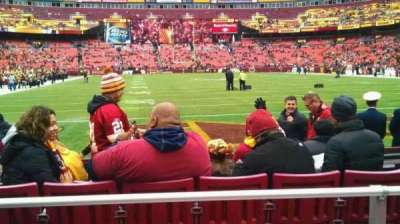FedEx Field section 112