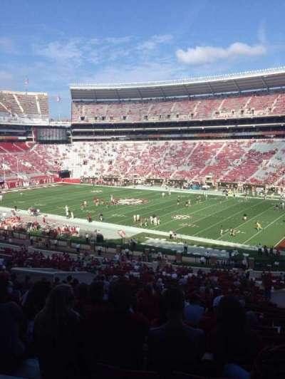 Bryant-Denny Stadium, section: C, row: 44, seat: 8
