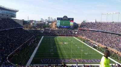 TCF Bank Stadium, section: 227, row: 22, seat: 4