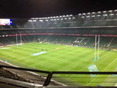 Twickenham Stadium, section: U27, row: B, seat: 68