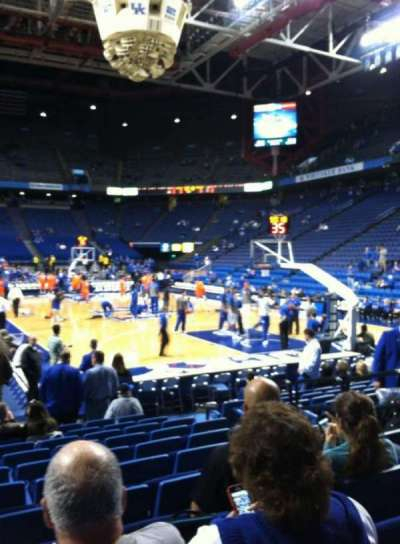 Rupp Arena, section: 24, row: LL, seat: 7