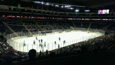 Infinite Energy Arena, section: 115, row: ZZ, seat: 19