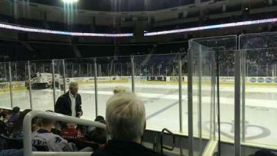 Infinite Energy Arena, section: 118, row: E, seat: 17