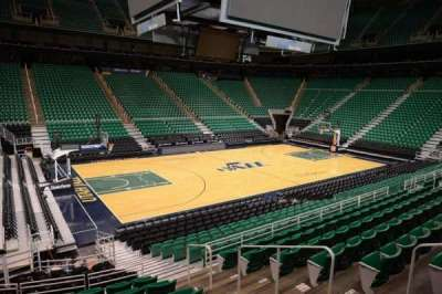 Vivint Smart Home Arena, section: 20, row: 15, seat: 5