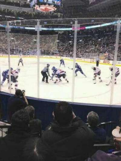 Air Canada Centre, section: 115, row: 8, seat: 3