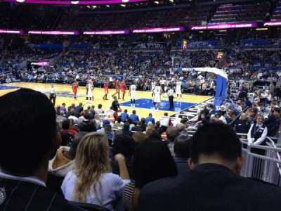 Amway Center, section: 104, row: 10, seat: 1