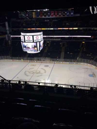 Bridgestone Arena, section: 327, row: K, seat: 8