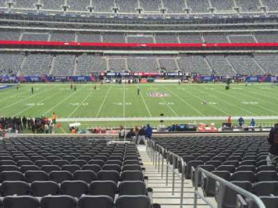 MetLife Stadium, section: 140, row: 29, seat: 1 and 2