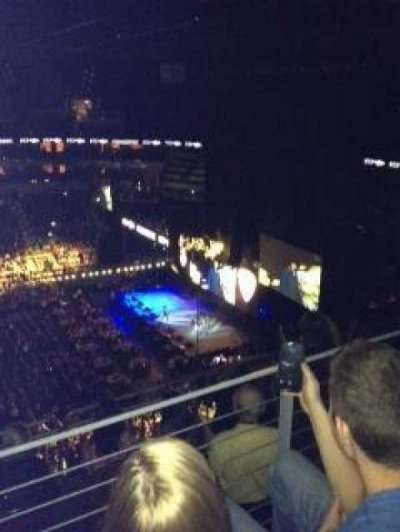 KFC Yum! Center, section: 308, row: H, seat: 11