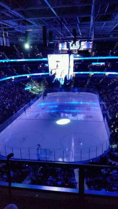 Amalie Arena, section: 308, row: B, seat: 5