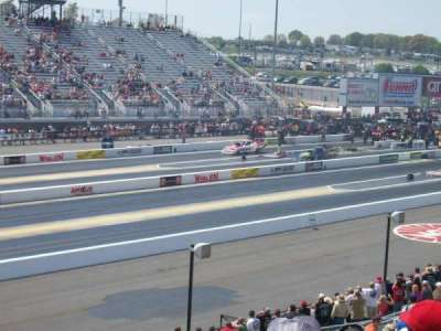 zMAX Dragway, section: John Force section M, row: 16, seat: 16