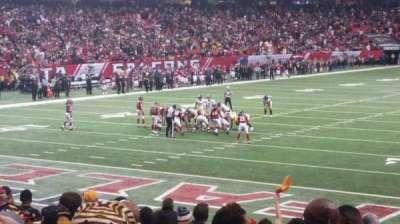 Georgia Dome, section: 103, row: 16, seat: 14