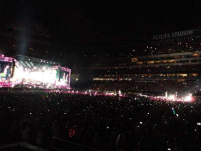 MetLife Stadium, section: 135, row: 3, seat: 23
