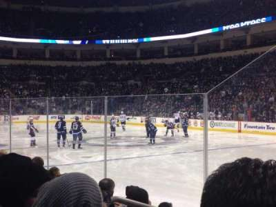 MTS Centre, section: 103, row: 5, seat: 13-14