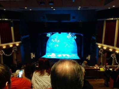 Paper Mill Playhouse, section: Mezzanine, row: FF, seat: 14