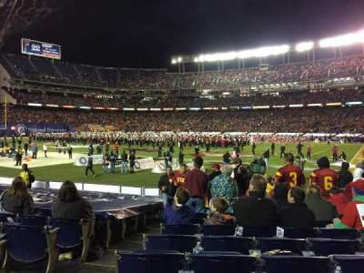 SDCCU Stadium, section: F11, row: 13, seat: 2