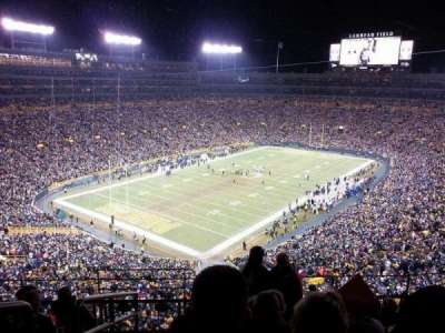 Lambeau Field section 637s