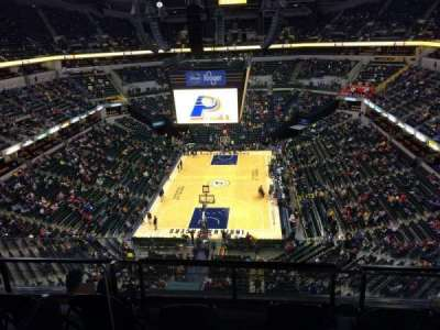 Bankers Life Fieldhouse section 216