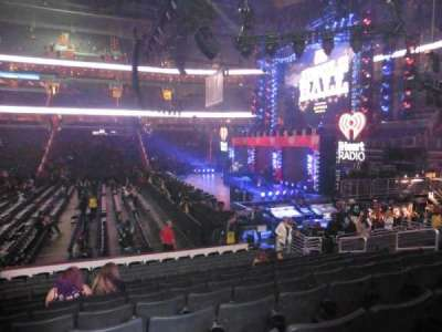 Verizon Center, section: 112, row: N, seat: 12